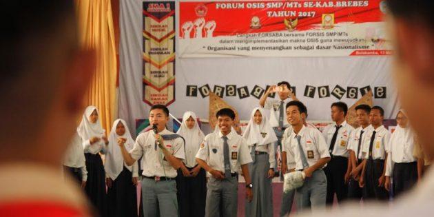Forum OSIS SMP/MTs  se Brebes Dilatih Orientasi Masa Pengenalan Sekolah