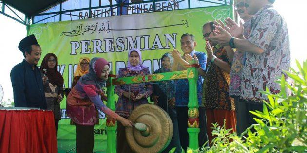 Bupati Resmikan SMK Islam Diponegoro Losari