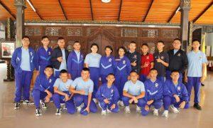 SMA Taruna Nusantara Magelang Bertandang ke Pendopo