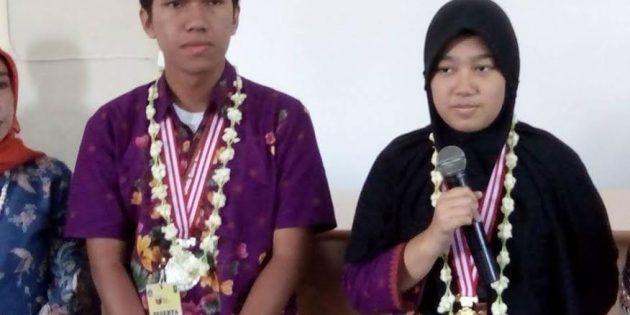 Dua Siswa SMAN 2 Brebes Raih Emas dan Perak di Ajang OSN 2017