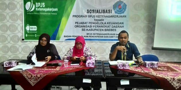 Ketua BPPKAD, Joko Gunawan : Pekerja Proyek Wajib  Ikuti BPJS Ketenagakerjaan