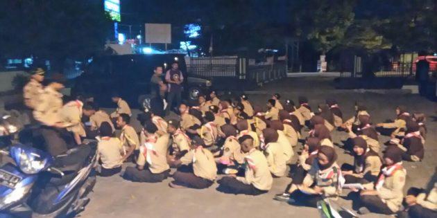 Ikuti Perkemahan Wirakarya Maarif Nasional, 64 Calon Peserta Digembleng