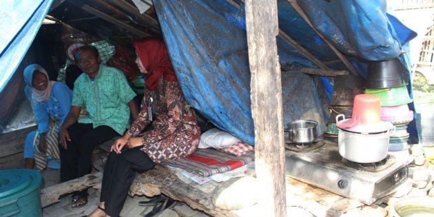 11 Tahun Mulyono Hidup Ditenda, Bupati Janji Bantu  Pembangunannya