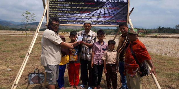 Peduli Anak Yatim, Yayasan Spensa 90 Bumiayu akan Bangun Panti Asuhan