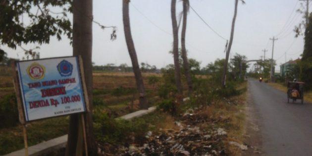 Di Desa Rancawuluh, Buang Sampah Sembarangan Didenda 100 ribu