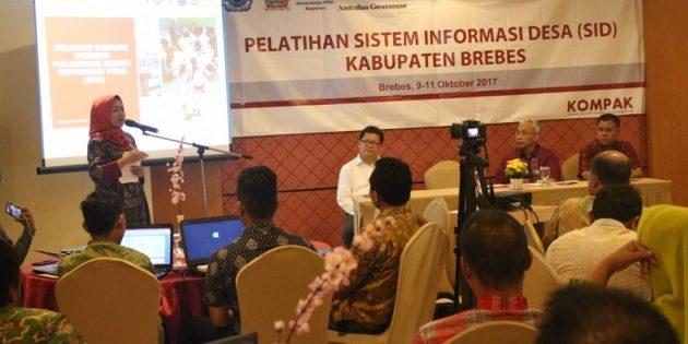 Jadi Percontohan, 10 Desa Ikuti Pelatihan Sistim Informasi Desa