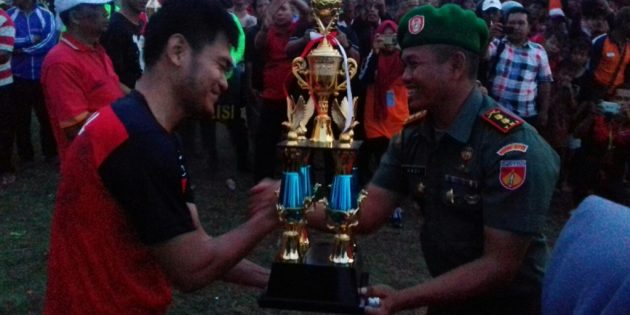 PS Persada Ketanggungan Menangi Dandim Brebes Cup 2017
