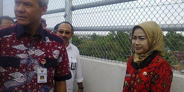 Gubernur Ganjar : Silahkan Dinding Jembatan Flyover Dilukis Mural