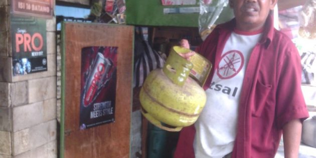 Persediaan Langka, Harga Gas 3 Kg Mulai Melejit di Bulakamba