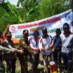 Perhutani Pasang Patok Kawasan Hutan dengan HGU