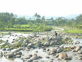Sepotong Kaki Wanita Ditemukan Dialiran Sungai Kalikeruh Adisana