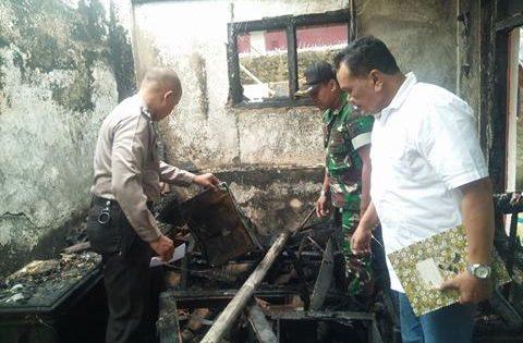 Kosleting Listrik, Rumah Suwarto Warga Kendaga Larangan Hangus Terbakar