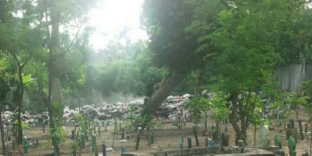 Sampah Menumpuk di Pemakaman, Warga Bangsri Berharap ada TPS