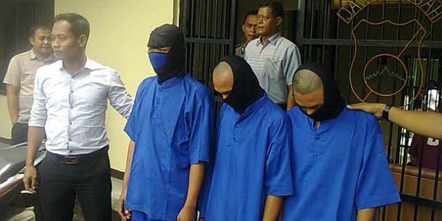 Tiga Penganiaya Mahasiswa UPB Akhirnya Ditahan Polisi