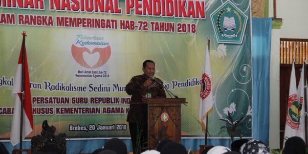 "Seminar Nasional Madrasah : "" Budayakan Pembelajaran Madrasah yang Ceria """