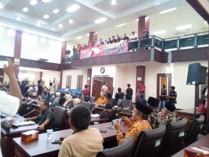 Sidang Paripurna, Seluruh Fraksi DPRD Brebes Setujui Adanya Pemekaran