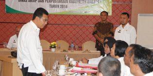 20 Desa di Kabupaten Brebes Ikuti Workshop Perpustakaan Desa
