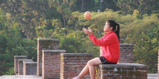Ngobrol Sejenak dengan Atlet Nasional Takraw  Asal Brebes