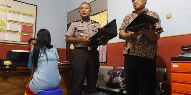 Didakwa Curi Laptop Mantan Majikan, Wanita Asal Paguyangan ini Dipolisikan