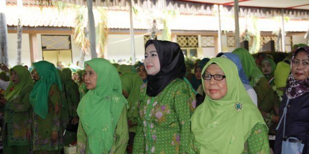 HUT Muslimat NU di Brebes, PWNU Jateng Tegaskan NU  Tidak Main di Poltik Praktis