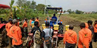 Sukseskan Swasembada Pangan, Petani di Songgom Dilatih Tanam Jagung Modern