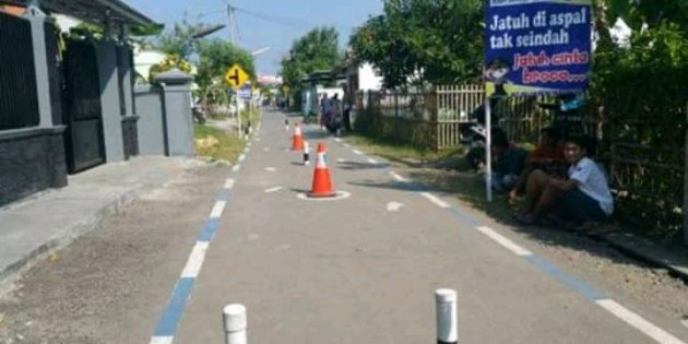 Angka Kematian Kecelakaan Tinggi, Polres Brebes Resmikan Kampung Lalu Lintas