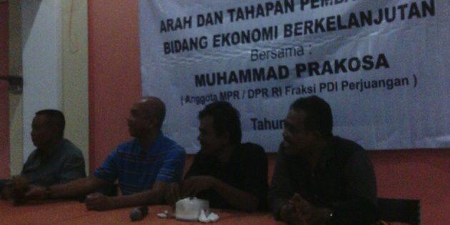 Reses Anggota DPR PDIP, Bahas Pengelolaan Pasar Bawang dan Pendangkalan Waduk Malahayu
