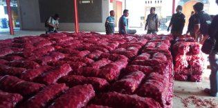 ABMI Brebes Sweeping Gudang Bawang, Ditemukan 8 Ton Bawang Impor Siap Edar