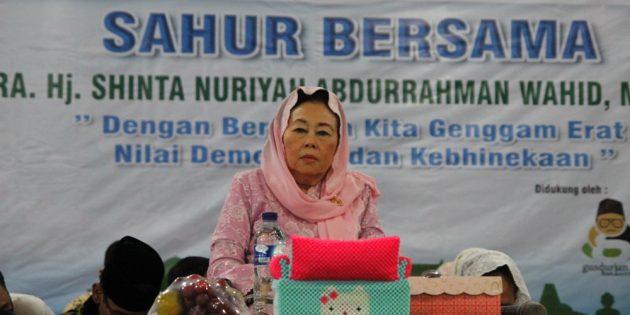 Besok Pagi, Ibu Nuriyah Gus Dur Saur Bareng di Pendopo Brebes