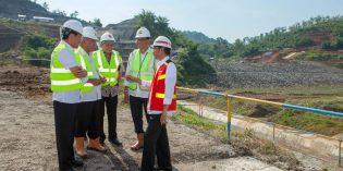 Waduk Kuningan Ditinjau Jokowi, 2000 Hektare Sawah di Brebes akan Ter-aliri