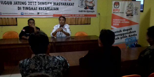 KPUD Brebes Minta Tomas dan Toga Sosialisasikan Pilgub