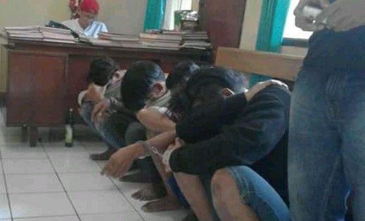 4 Remaja Pelaku Perampasan Motor Dibekuk Polisi Brebes
