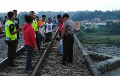 Tak Hiraukan Klakson Kereta Api, Wanita di Bumiayu Tewas Tersambar