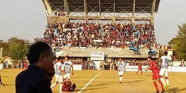 Meski Kalah 1-0 Lawan Persibara Banjarnegara, Persab Tetap Lolos ke Liga 3 Nasional