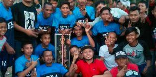 Salak FC Menangi Turnamen Bola Karang Taruna Harapan Bangsa Desa Sengon 2018
