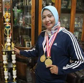 """""""Wanita Terkuat"""" Persit Brebes, Peraih 2 Medali Emas Sea Games Beberkan Kunci Sukses"""