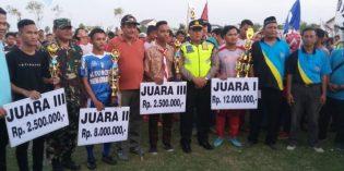 Libas Al Jabar Cirebon, Porsegi Grinting Juara Persaba Cup 2 Jatibarang