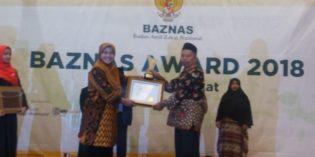 Brebes Terima Baznas Award 2018, Kategori Pendistribusian Zakat