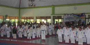 520 Atlet Karateka Antar Provinsi Ikuti Kejuaraan Karate Open Dandim Brebes