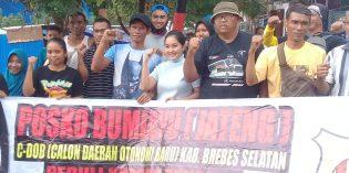Permudah Penyaluran Bantuan, Presidium Pemekaran Bumiayu buat Posko di Palu