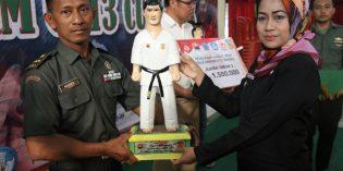 Juarai Karate Open Dandim  Brebes, INKAI Kodim Tegal Gondol Uang dan Piala