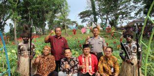 Taman Wisata Sejuta Bunga Malahayu Diresmikan