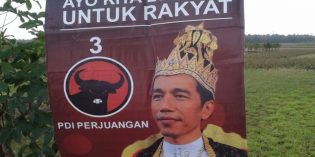 """Marak Baner """"Raja Jokowi"""", PDIP Brebes Menyatakan, Ini Black Campange"""