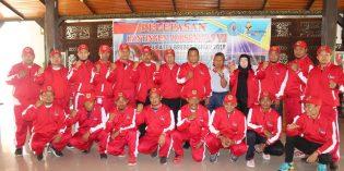 Ikuti Porsenitas ke 7 di Kota Banjar, 73 Atlet Brebes Dilepas