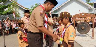 Di Banjarharjo, 700 Barung Ikuti Lomba Ketangkasan Siaga Kwartir Cabang Brebes