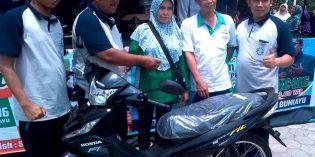 Aryani Gondol Motor Hadiah Milad Muhamadiyah ke 106
