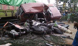 Tronton Rem Blong Akibatkan 4 Tewas Belasan Lainnya Luka-luka