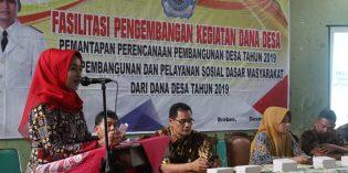 Tagih Laporan Dana Desa, Idza Sambangi 3 Kecamatan