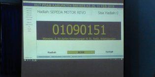 Waryono Ketanggungan Gondol Motor Gebyar 2019 HUT PDAM Brebes