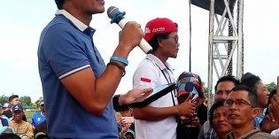 Ke Brebes, Sandiaga Uno dapat Keluhan Petani 'Nandur Bawang Tukule Utang'